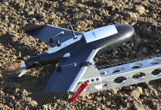 Gatewing X100 Fixed Wing voor luchtfotografie van grotere projectzones