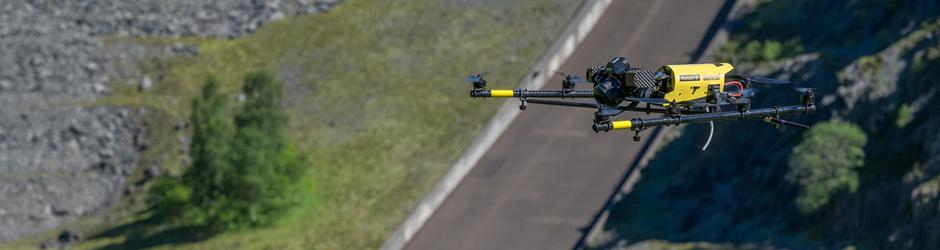 Drones in de wegenbouw