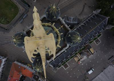 3D model draak belfort Gent