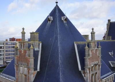 Plaatsbeschrijving van een dak
