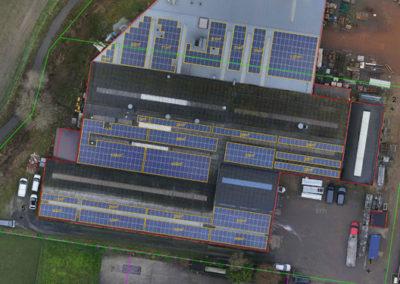 Dakenplan met zonnepanelen