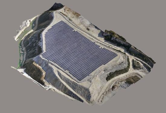 Controlemeting van zonnepanelen