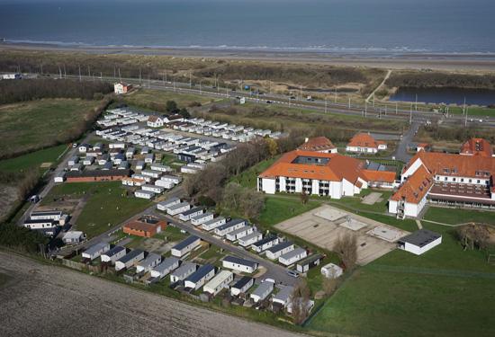 3D van een vakantiepark in Blankenberge